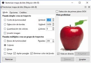 Cómo vectorizar una imagen