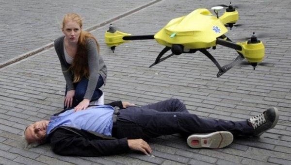 Crean el primer drone ambulancia del mundo