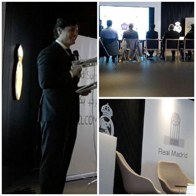 Hosting the STC cloud summit at the presidential business area Santiago Bernabeu Stadium (Real Madrid sponsor) #bilingualspeakers #madridenglishspeaker #sportspeakers #speakerbernabeu #speakerrealmadrid #speakereningles #bilingualhost #bilingualmc #milingualmcspainWww.maestrodeceremonias.es Www.presentadoresdeeventos.com +34 644 597 199Mc@maestrodeceremonias.es