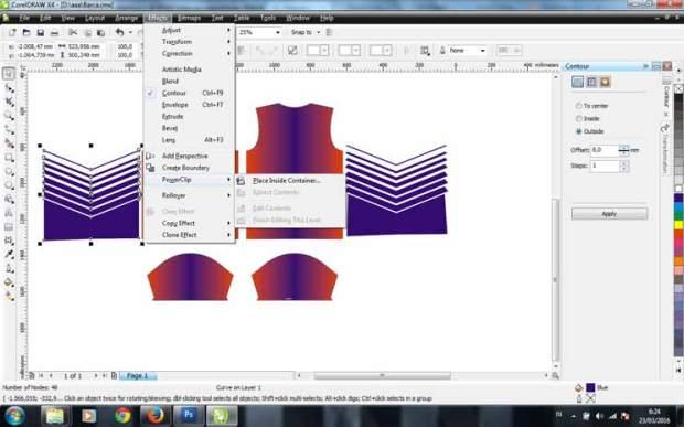 cara membuat desain baju futsal-buat jersey bola