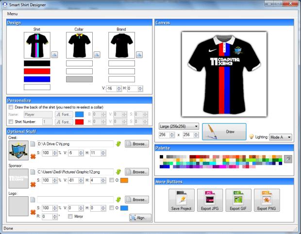 cara membuat desain baju futsal-buat jeresy bola