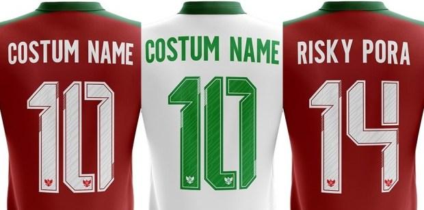font jersey timnas indonesia terbaru-bikin jersey futsal