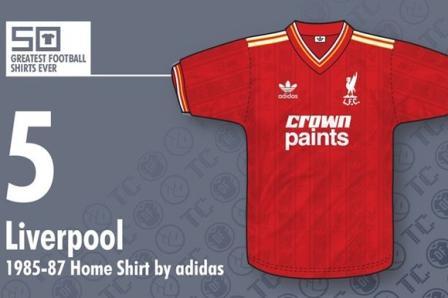 jersey bola Liverpool 1985-1987- buat jersey futsal
