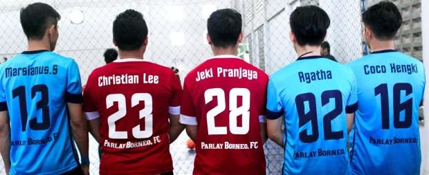 Jersey parlay Borneo-bikin jersey futsal