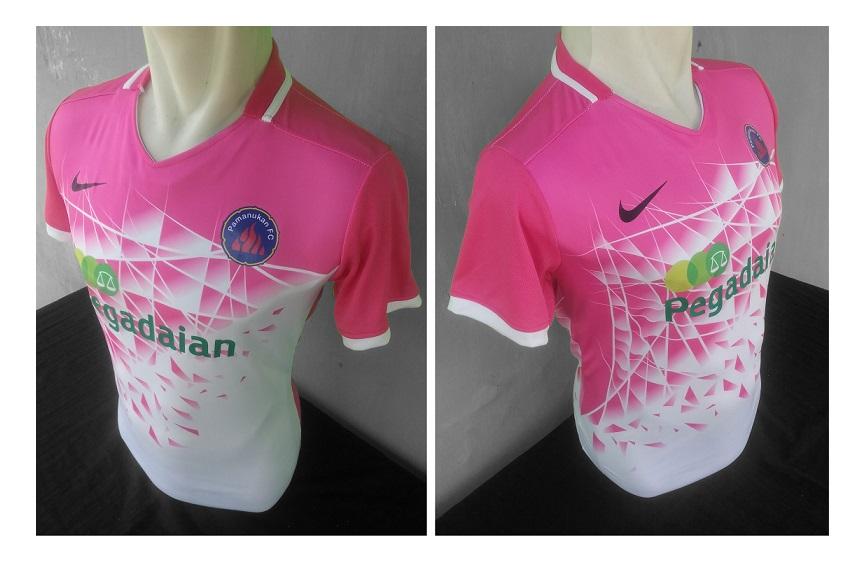 Jersey Pink Pamanukan FC-buat jersey futsal