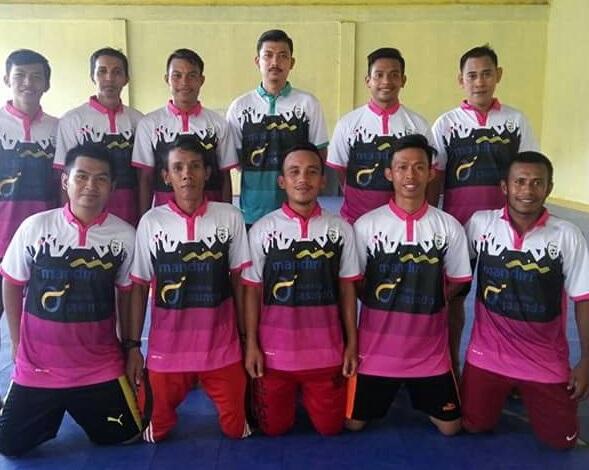 Bank Mandiri Toli-toli FC-buat jersey futsal