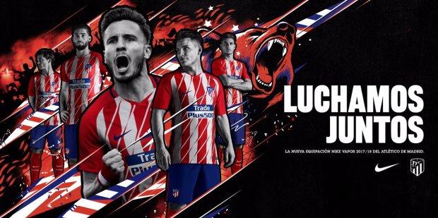 Jersey Atletico Madrid-buat jersey futsal