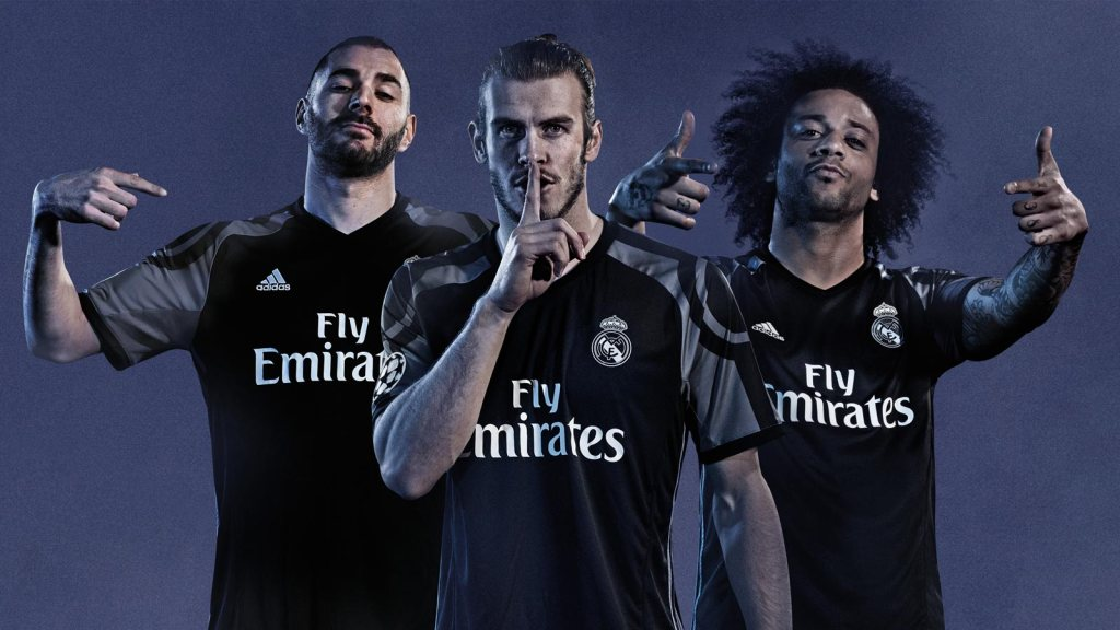 jersey real madrid away-buat jersey bola