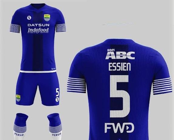 Buat jersey sepakbola Persib Bandung musim depan dipastikan disainnya lebih sederhana