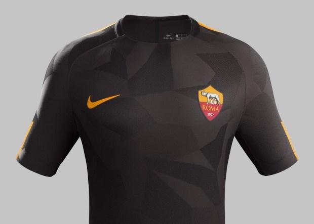 jersey sepak bola as roma ketiga-buat jersey sepak bola