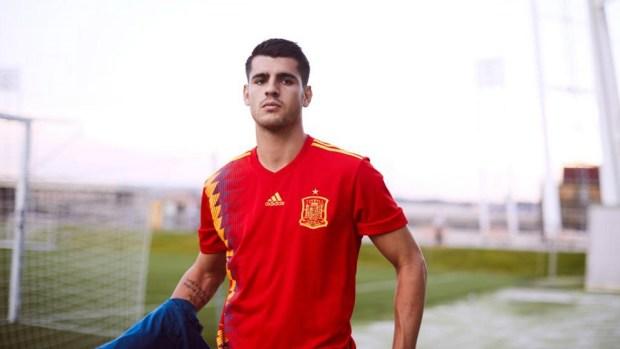 jersey sepak bola tim nas spanyol terbaru-buat baju bola