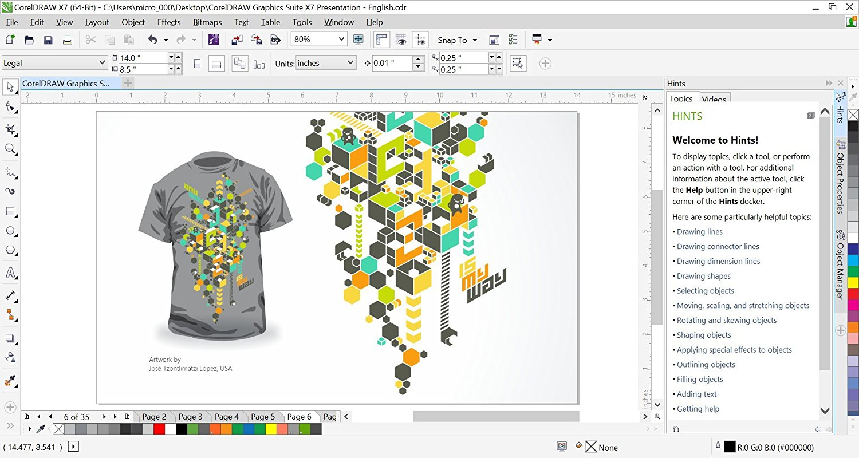 Aplikasi Desain Baju Corel Draw