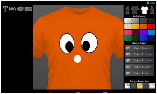 Aplikasi Desain Baju Bola dan Kaos T-shirt Designer