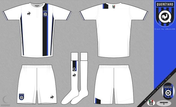 desain kostum futsal terbaik depan belakang queretaro
