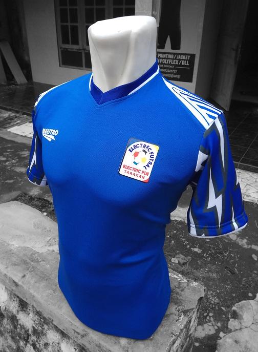 jersey futsal printing elektrik PLN Tarakan FC