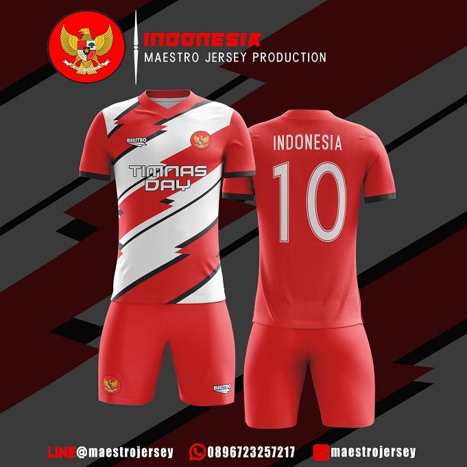 Desain Jersey Futsal Edisi Timnas