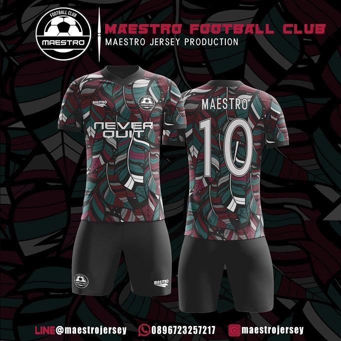 Desain Jersey Futsal Maestro FC