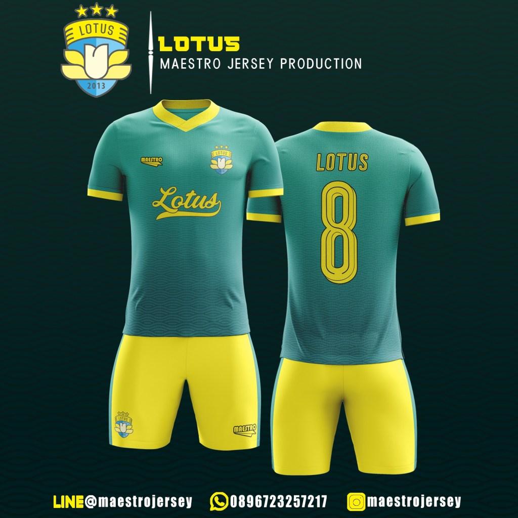 Desain Jersey Lotus FC