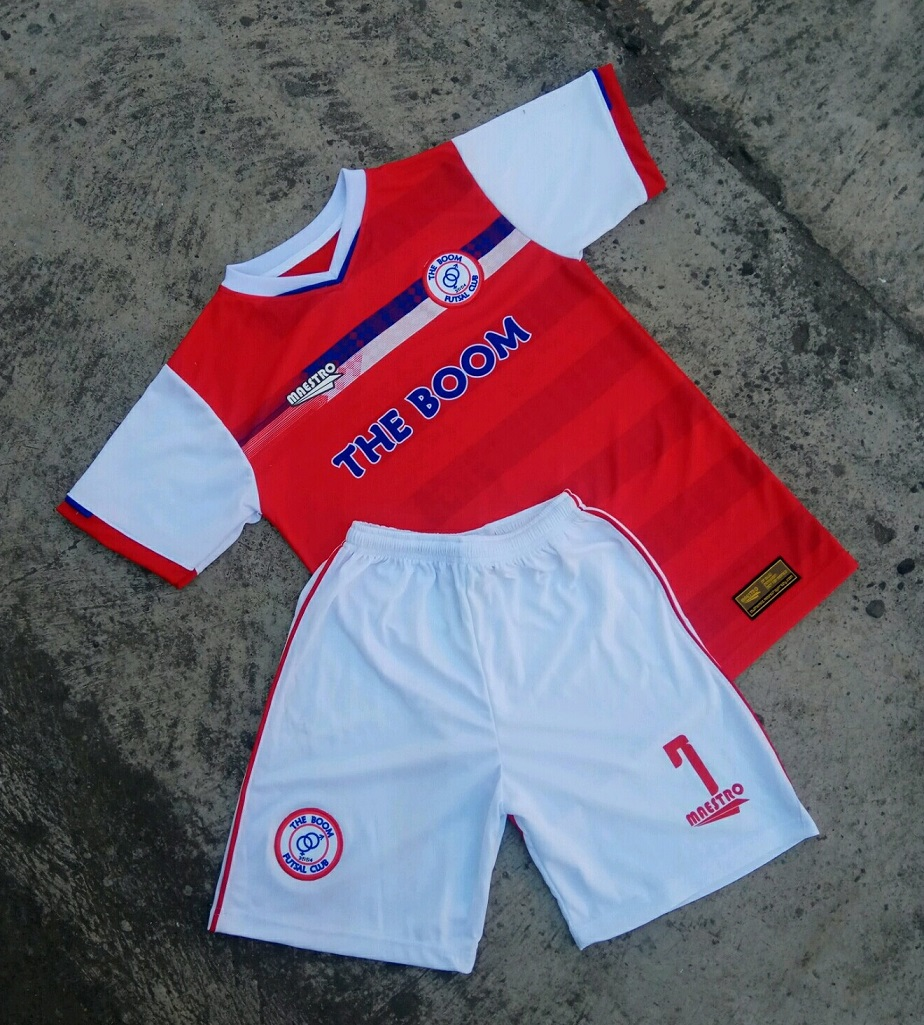 baju futsal printing the boom fc