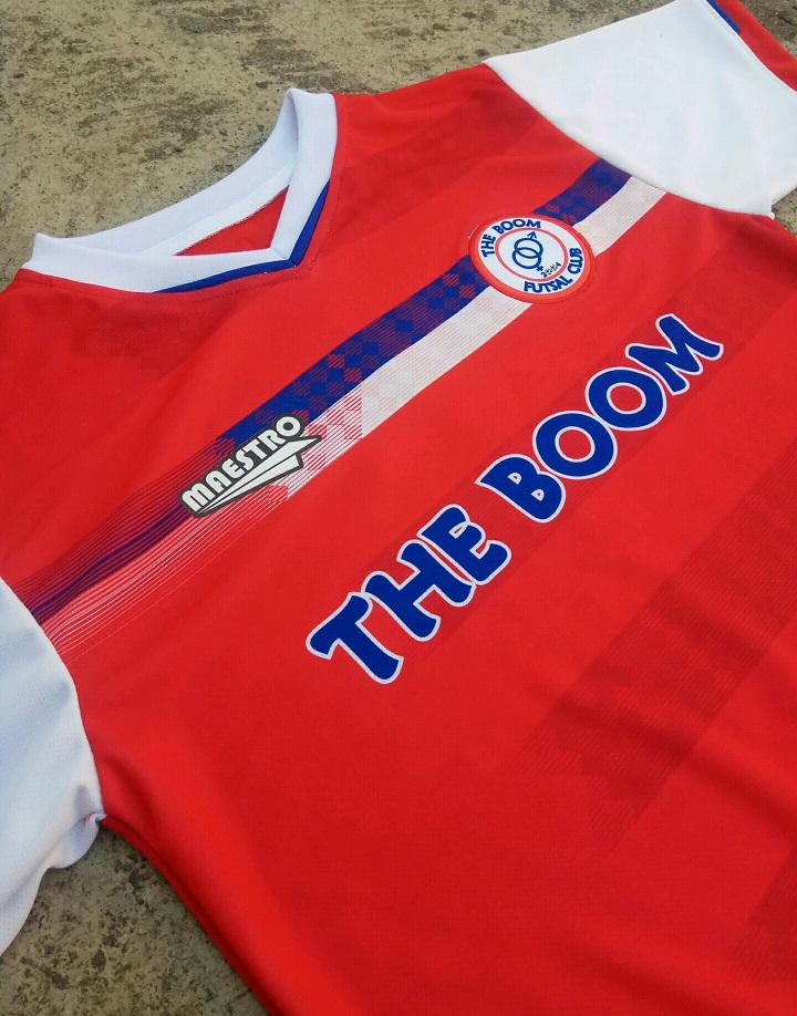 baju futsal the boom fc
