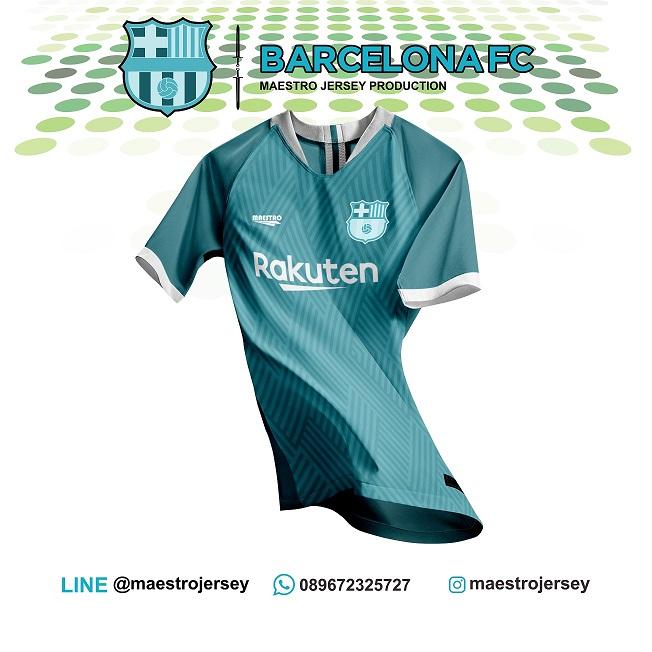 desain jersey barcelona fc