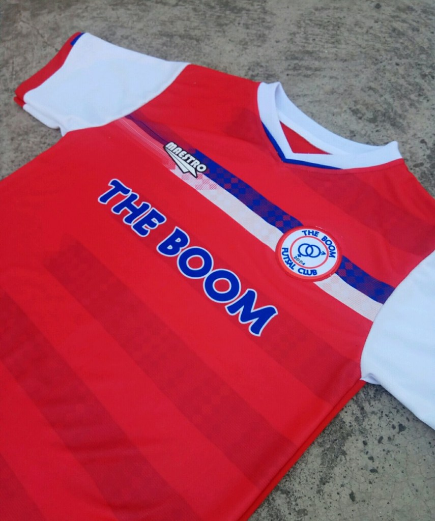the boom fc jersey
