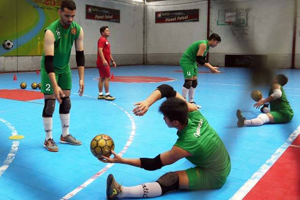kiper futsal timnas indonesia