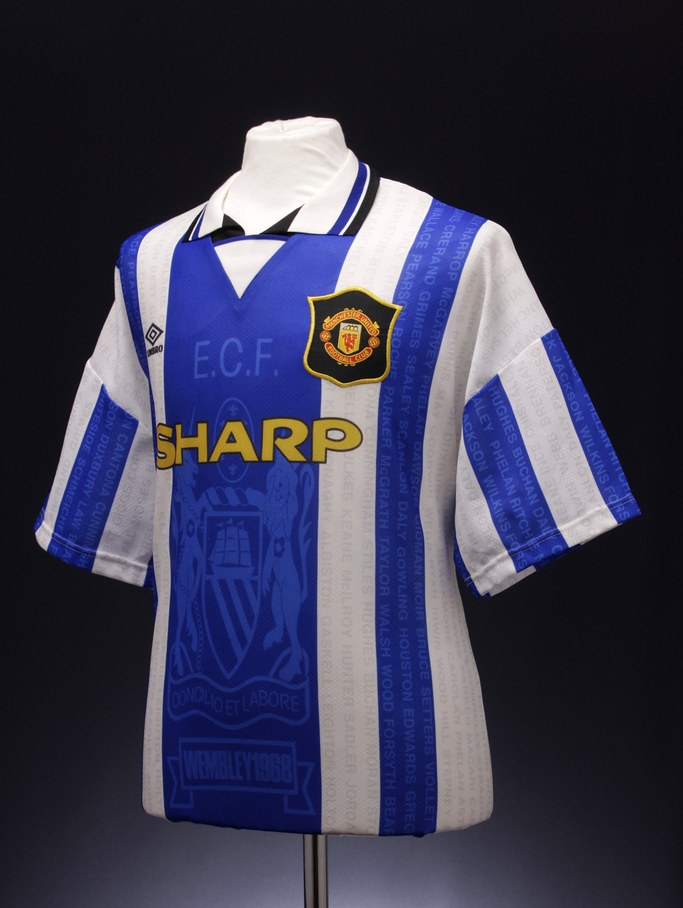 jersey retro manchester united yang sangat bagus untuk di custom
