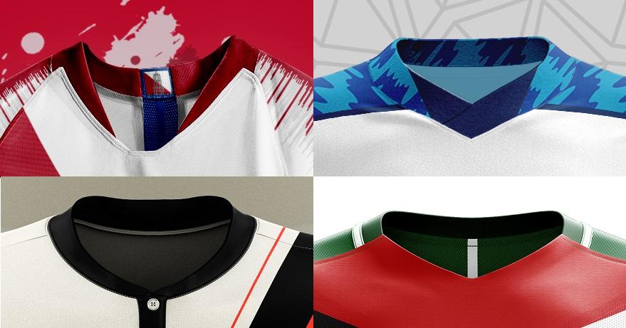 model kerah desain jersey futsal