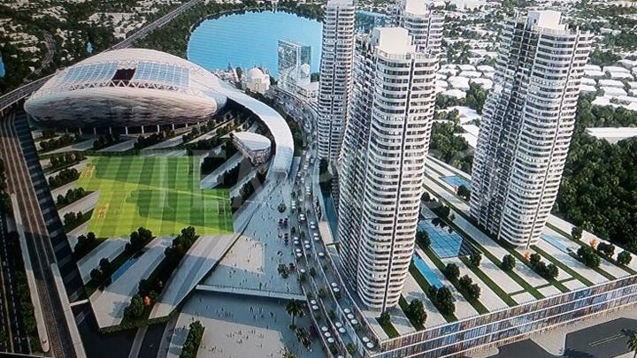 rancangan stadion baru jakarta