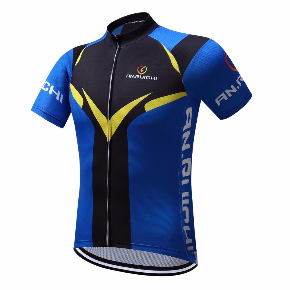 desain jersey sepeda hitam biru kuning