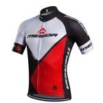 motif kaos sepeda merah putih hitam
