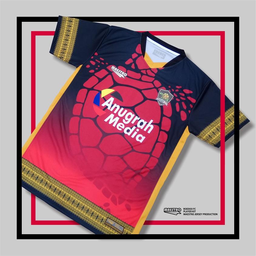 Jersey Roedoo FC Merah
