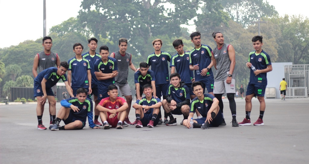 Jersey Futsal yang seragam menjadikan tim menjadi professional dan kompak
