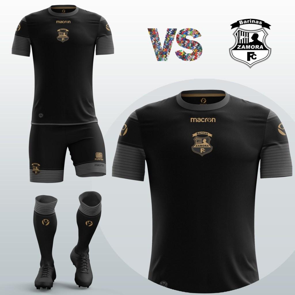 Referendi Desain Jersey Futsal Hitam