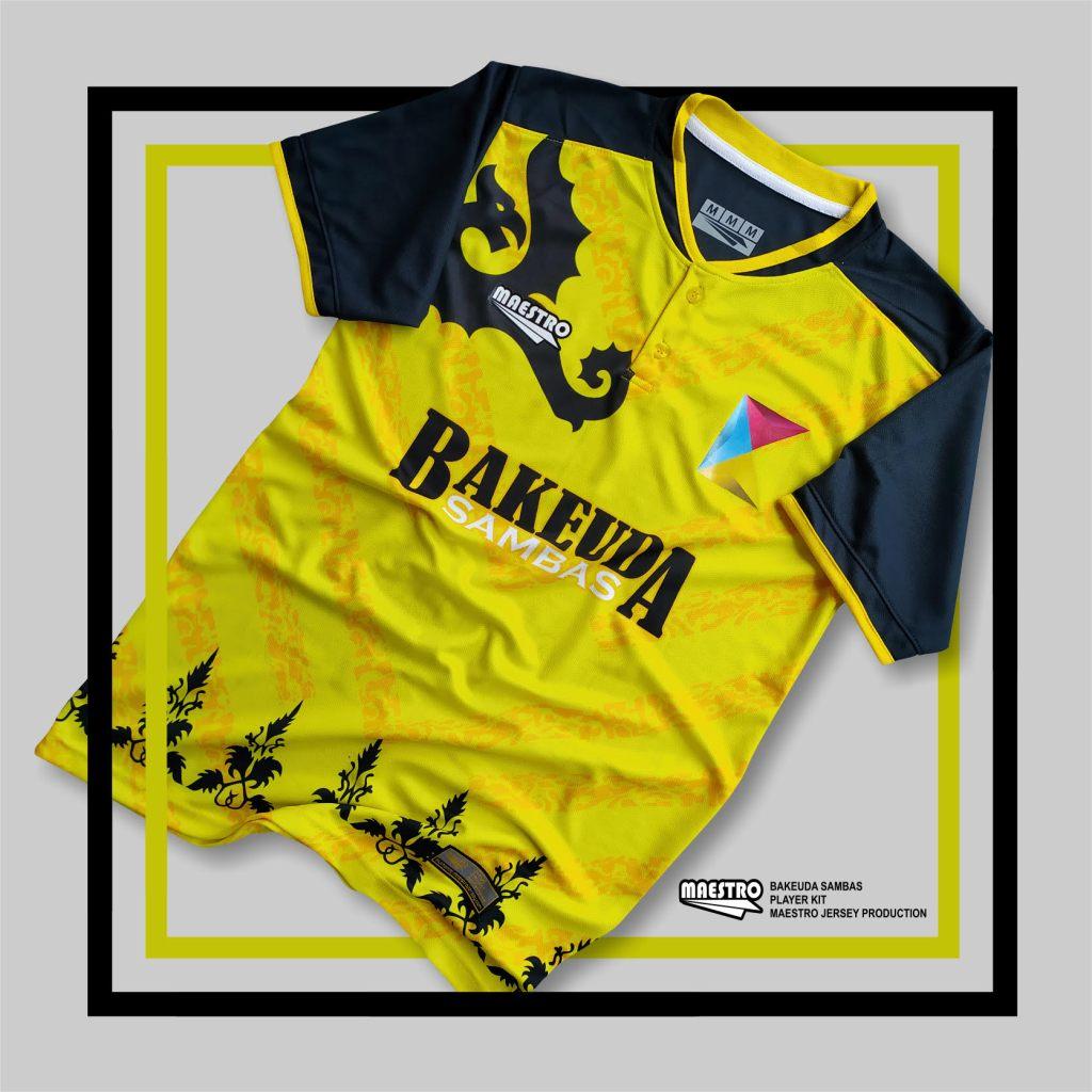 Referensi Jersey Futsal Motif Kuning