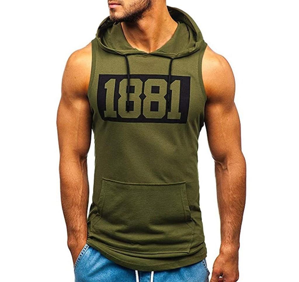 tank top hoodie
