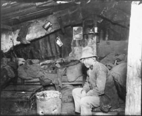 Alojamiento en el vertedero Rivington. Jacob A. Riis