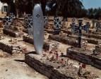 Cementerio alemán, cerca de El Ouina airfield, Tunisia, May 1943.