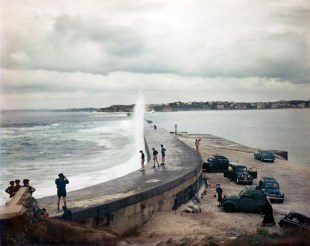 Embarcadero, Biarritz, Francia, agosto de 1951.