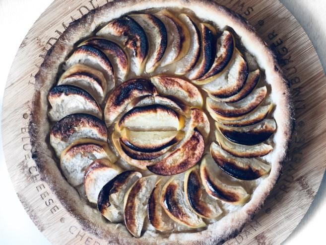 Веганский постный рецепт яблочного пирога