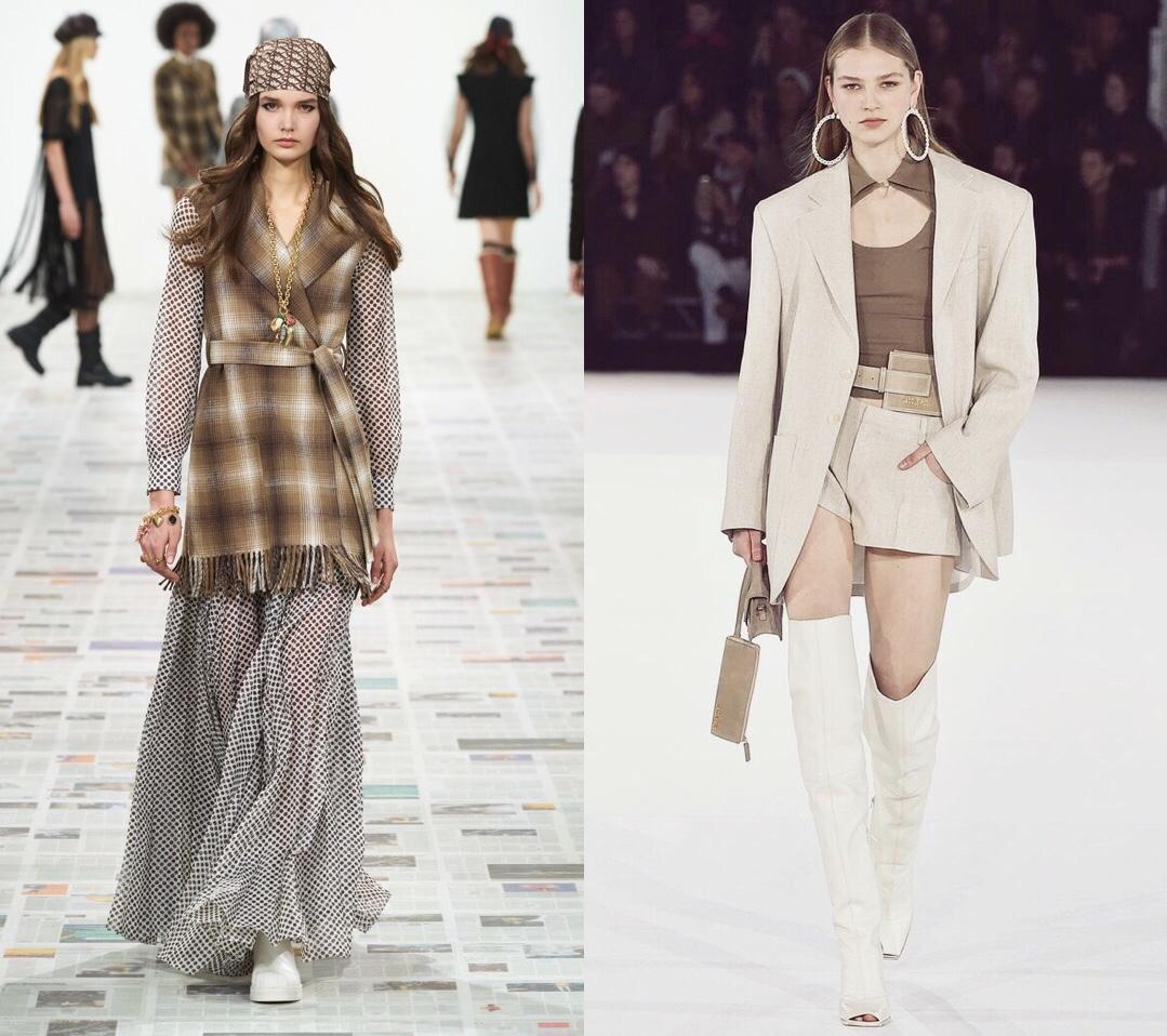 модные тренды осень зима 2020