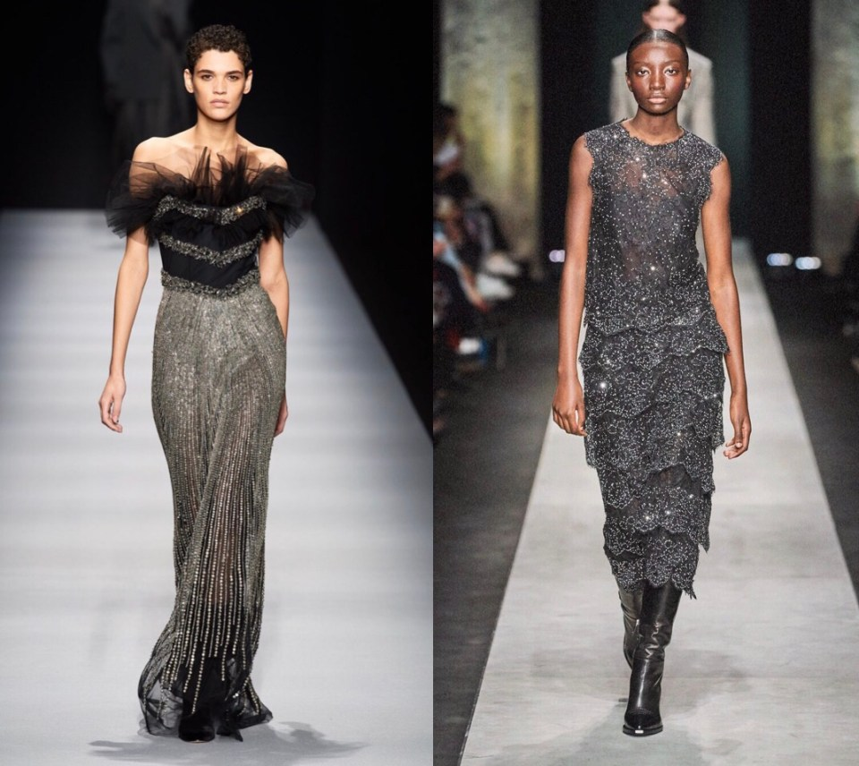 украшения на одежде модный тренд осень зима 2020 2021