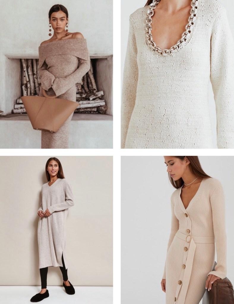 шерстяные платья модные 2020 2021
