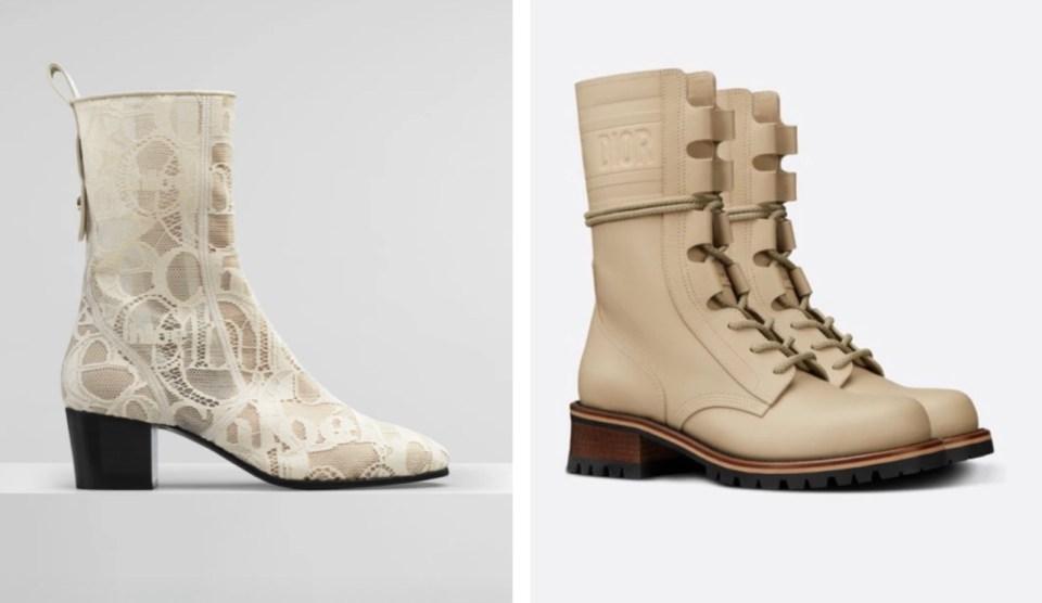 светлая обувь тренд весна — лето 2021