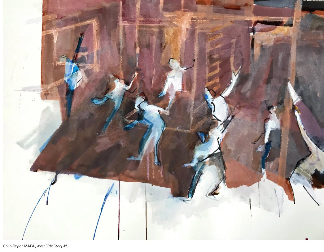Colin Taylor Exhibition - West Side Story
