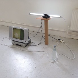 Gerard Carson. 'CompoSITE' at Chelsea College of Arts, London. Image courtesy the artist.
