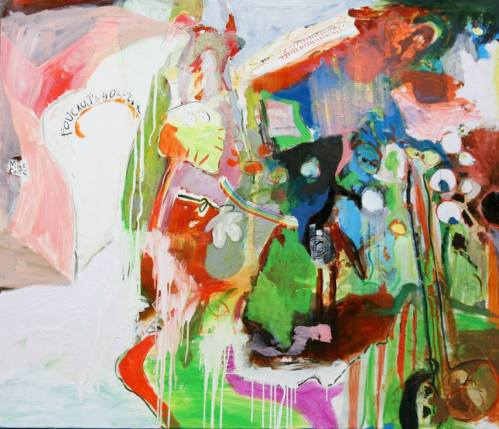 Miles Coote, 'Foucault's Hospital', 2015, oil on canvas.