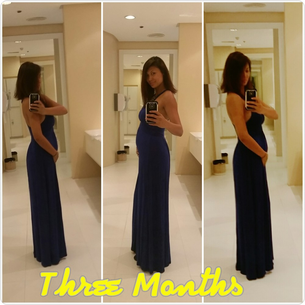 Half way there... 5 months Pregnant (3/4)