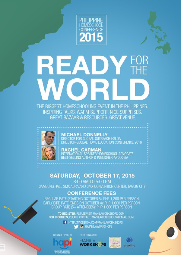 Ready for the World!!! Philippine Homeschool Conference 2015